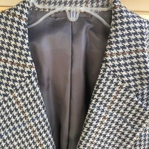 Vintage Hickey-Freeman Sport Coat Lambs Wool 46R